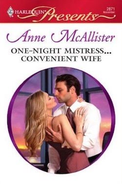 Excerpt: One-Night Mistress … Convenient Wife